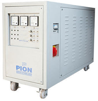 3 - Phase Air Cooled Servo Controlled Voltage Stabilizer (Analog)